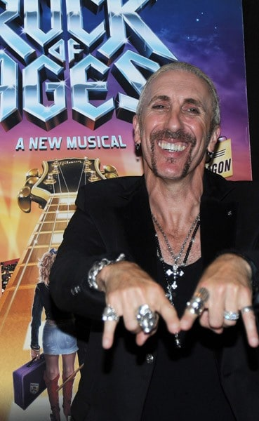Dee Snider attends after party celebrating his Broadway debut in 'Rock of Ages' at the The Glass House Tavern on October 11, 2010 in New York City.
