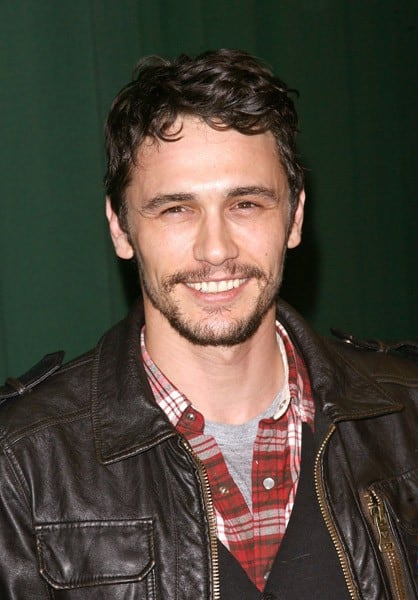 James Franco Promotes Palo Alto Contact Any Celebrity border=