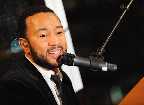 John Legend performs during A Lifeline in the Night: A Benefit for Pakistan Flood Relief at the Boom Boom Room on October 4, 2010 in New York City.