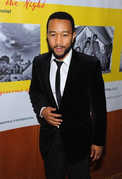 John Legend attends A Lifeline in the Night: A Benefit for Pakistan Flood Relief at the Boom Boom Room on October 4, 2010 in New York City.