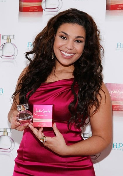 Jordin Sparks attends the launch of Jordin Sparks' 'Because of You' fragrance at The Bryant Park Hotel on October 6, 2010 in New York City.