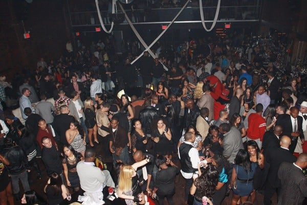 General Atmosphere as Kim Kardashian celebrates her 30th birthday at Amnesia NYC on October 22, 2010 in New York City.