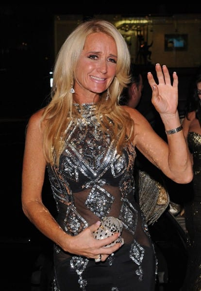 Kim Richards of 'Real Housewives of Beverly Hills' is seen on October 11, 2010 in Los Angeles, California.