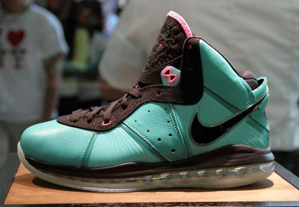 LeBron James debuts Lebron 8 Shoe At House of Hoops by Foot Locker at Dadeland Mall on October 16, 2010 in Miami, Florida.