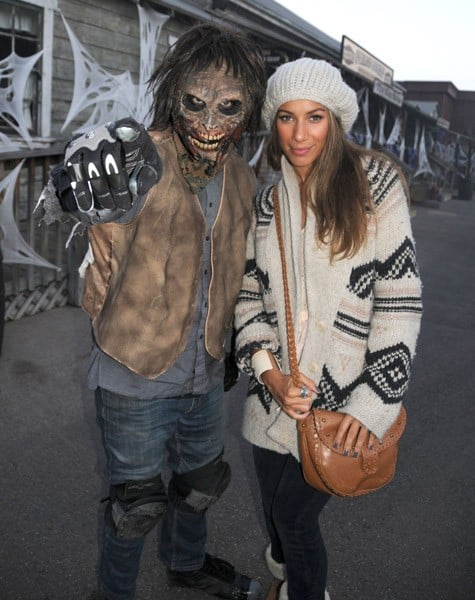 Singer Leona Lewis attends Knott's Scary Farm's Halloween Haunt on October 3, 2010 in Buena Park, California.
