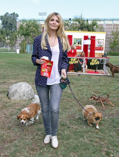 Mischa Barton is seen at Balboa park on October 14, 2010 in Los Angeles, California.