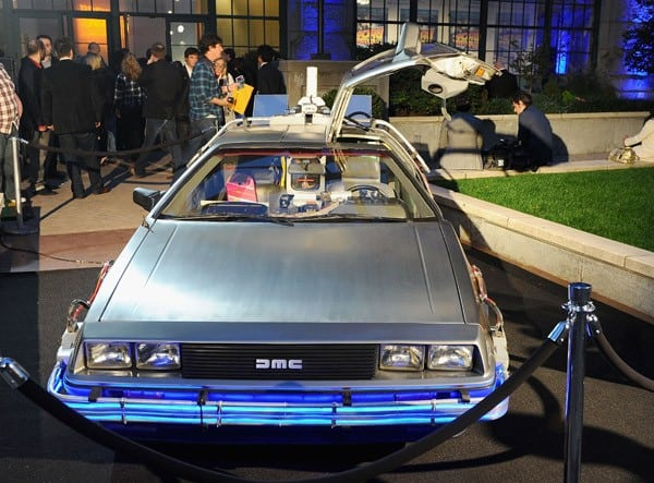 Atmosphere at the 'Back To The Future' 25th anniversary Trilogy Blu-Ray release celebration at Gustavino's on October 25, 2010 in New York City.