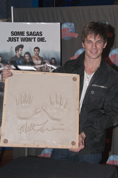 Matt Lanter Visits Planet Hollywood Times Square on October 7, 2010 in New York City.