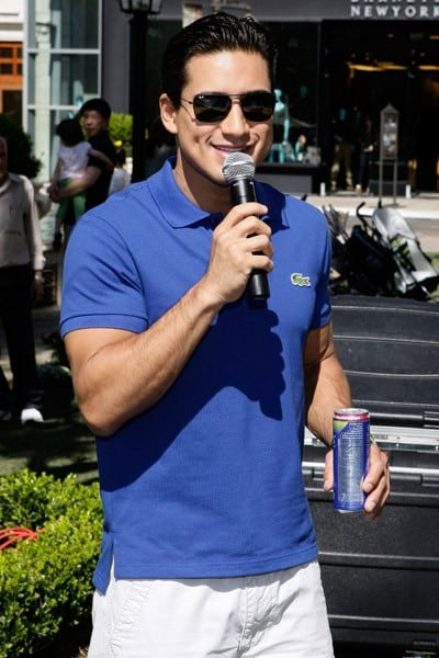 Mario Lopez celebrates his birthday at The Americana at Brand on October 9, 2010 in Glendale, California.