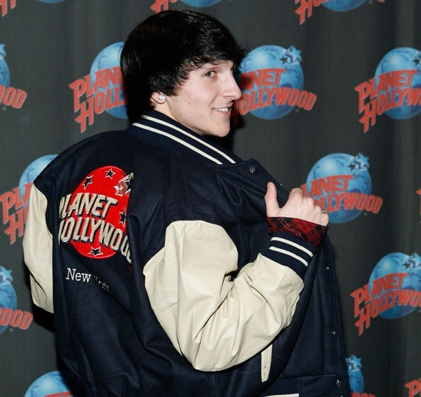Mitchel Musso visits Planet Hollywood Times Square on October 12, 2010 in New York City.
