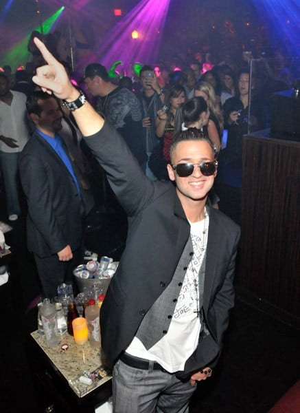 Television personality Mike 'The Situation' Sorrentino hosts a Halloween party at Jet at The Mirage Hotel and Casino on October 29, 2010 in Las Vegas, Nevada.