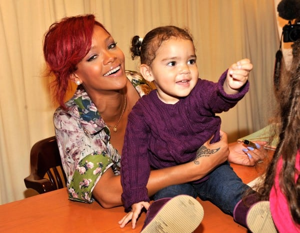 Rihanna Promotes Her New Book 'Rihanna: The Last Girl On Earth' at Barnes & Noble, 5th Avenue on October 27, 2010 in New York City.
