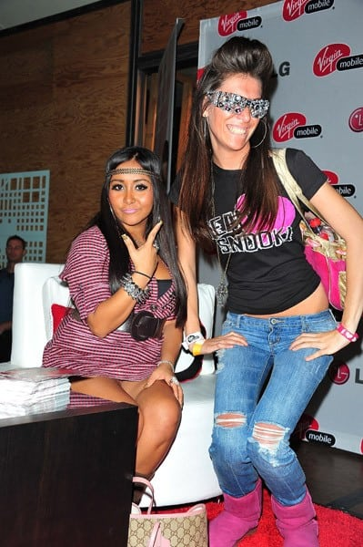 TV personality Nicole 'Snooki' Polizzi attends the 'Snooki Rumors Challenge' at the Garden State Plaza Mall on October 23, 2010 in Paramus, New Jersey.