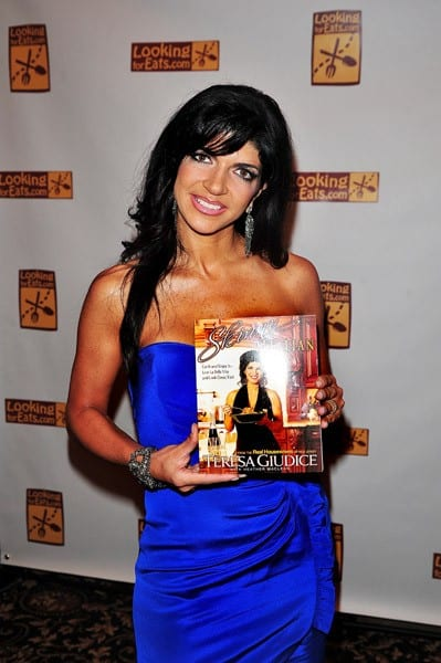 TV personality Teresa Giudice attends the Feed the Hungry charity event at The American Hotel on October 10, 2010 in Freehold, New Jersey.