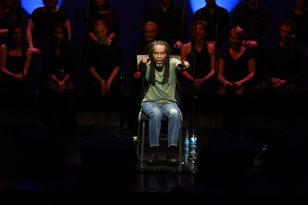 Bobby McFerrin performs at Rose Hall - Jazz at Lincoln Center on November 12, 2010 in New York City.