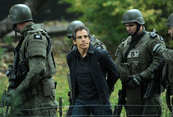 Ben Stiller filming on location for 'Tower Heist' on the streets of Manhattan on November 16, 2010 in New York City.