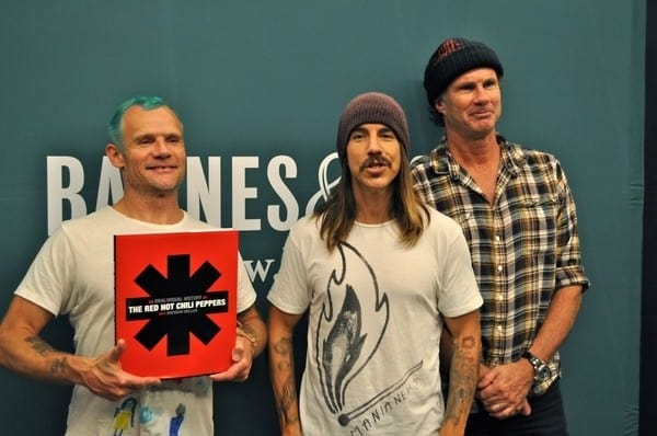 'The Red Hot Chili Peppers: An Oral/Visual History' Book Signing at Barnes & Noble at the Grove in Los Angeles on November 4, 2010.