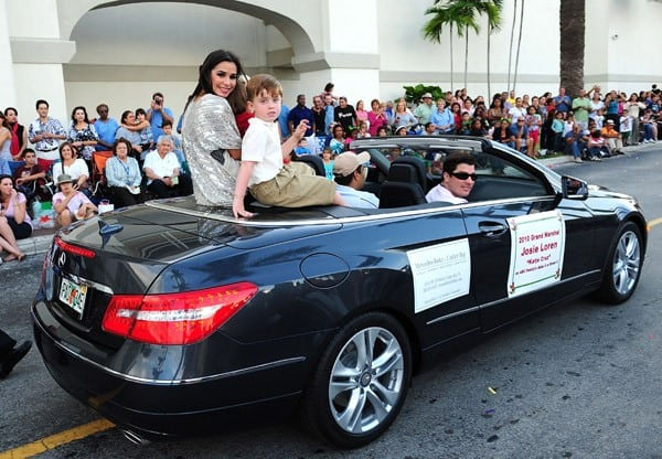 Actress Josie Loren attends the Miami Holiday Parade on November 20, 2010 in Miami, Florida.