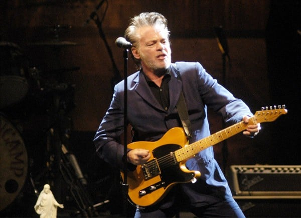 John Mellencamp performs at the Chicago Theatre on November 26, 2010 in Chicago, Illinois.