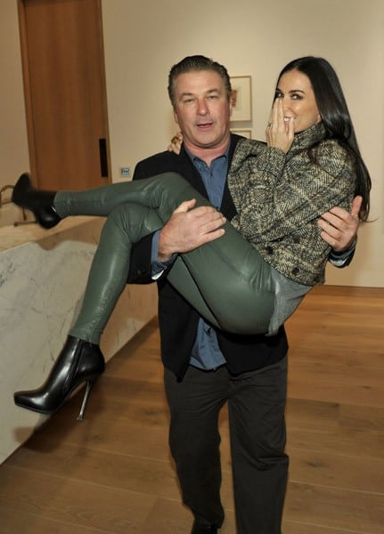 Actor Alec Baldwin and actress Demi Moore attend the U.S. Launch Event for New Lotus Cars at a private residence on November 12, 2010 in Los Angeles, California.