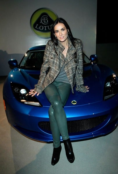 Actress Demi Moore attends the U.S. Launch Event for New Lotus Cars at a private residence on November 12, 2010 in Los Angeles, California.