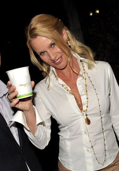 Actress Nicollette Sheridan attends the U.S. Launch Event for New Lotus Cars at a private residence on November 12, 2010 in Los Angeles, California.