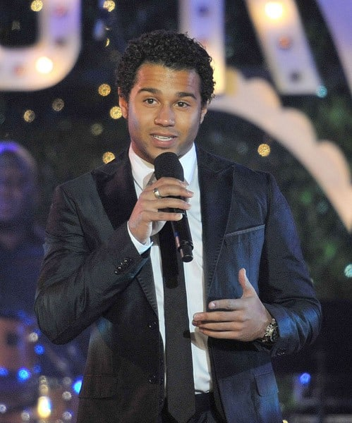 Corbin Bleu attends the annual Hollywood Christmas Celebration at The Grove on November 21, 2010 in Los Angeles, California.