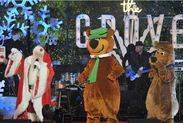 General atmosphere at the annual Hollywood Christmas Celebration at The Grove on November 21, 2010 in Los Angeles, California.