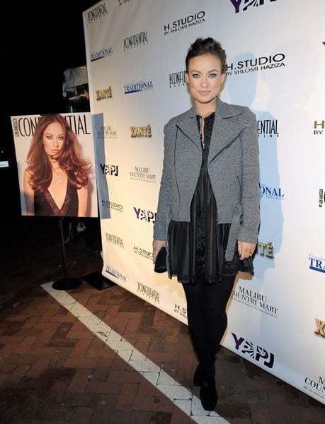 Actress Olivia Wilde attends the November Issue Celebration of 'Los Angeles Confidential' in support Of Young Artists For Peace And Justice at Traditional Jewelers at The Malibu Country Mart on November 20, 2010 in Malibu, California.
