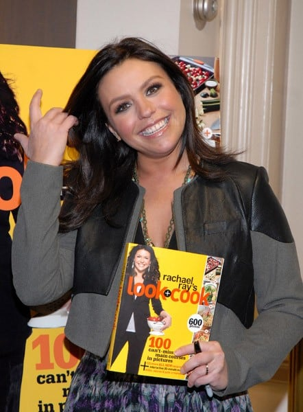 Rachael Ray promotes 'Look & Cook' at Barnes & Noble Union Square on November 15, 2010 in New York City.