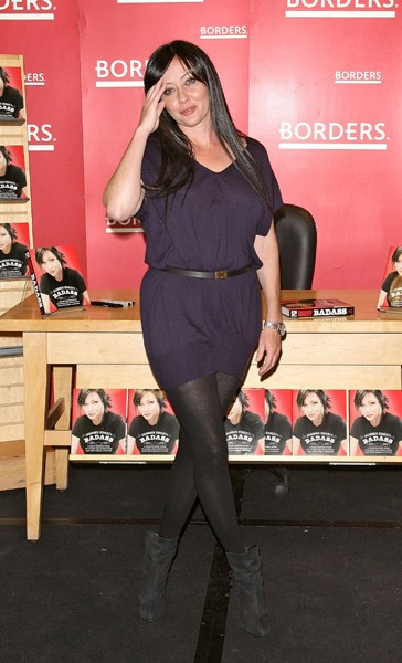 Shannen Doherty promotes 'Badass' at Borders Books & Music, Columbus Circle on November 2, 2010 in New York City.