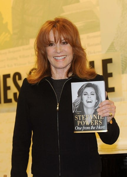 Stefanie Powers signs copies of her book 'One From the Hart' at Barnes & Noble, Lincoln Triangle on November 15, 2010 in New York City.