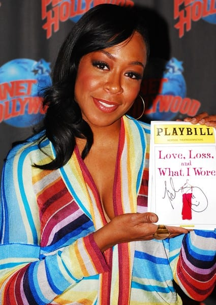 Tichina Arnold Promotes 'Love, Loss, And What I Wore' With An Appearance At Planet Hollywood Times Square in New York City on November 19, 2010