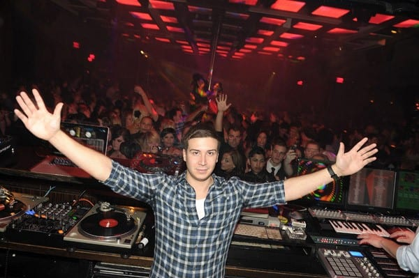 Vinny Guadagnino Hosts at Jet Nightclub at the Mirage Hotel and Casino on November 19, 2010 in Las Vegas, Nevada.