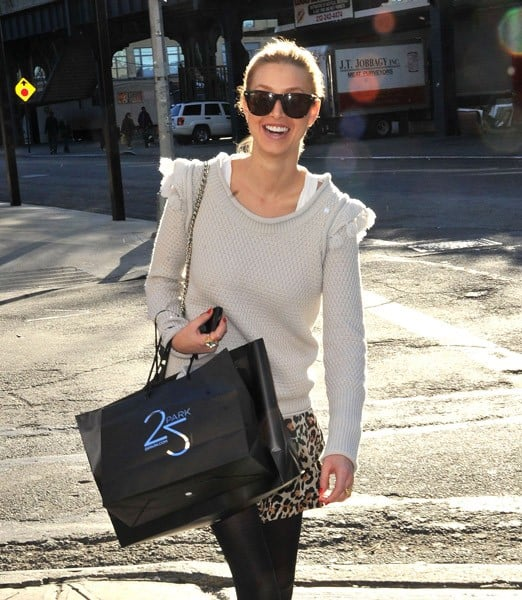 Whitney Port is seen on the streets of Manhattan after shopping at 25 Park on November 12, 2010 in New York City.