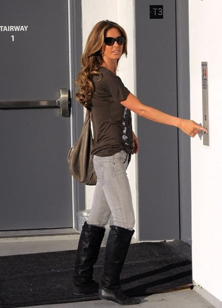Audrina Patridge is seen on December 2, 2010 in Los Angeles, California.