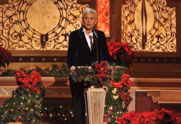 Ellen Degeneres performs onstage during TNT's 'Christmas in Washington 2010' at the National Building Museum on December 12, 2010 in Washington, DC.