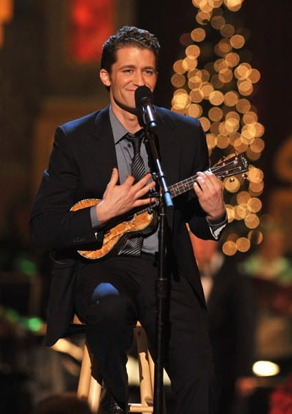 Matthew Morrison performs onstage during TNT's 'Christmas in Washington 2010' at the National Building Museum on December 12, 2010 in Washington, DC.