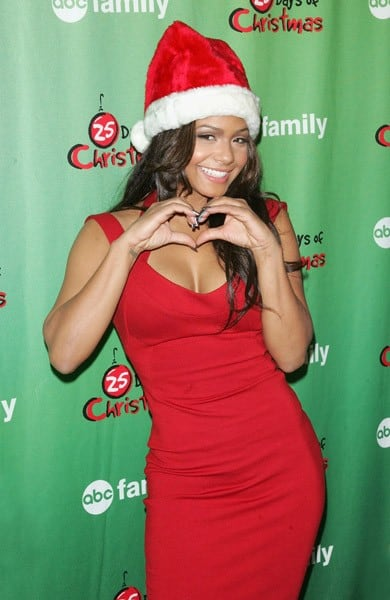 Actress Christina Milian attends ABC Family's Winter Wonderland at The Rock Center Cafe at Rockefeller Center on December 5, 2010 in New York City.