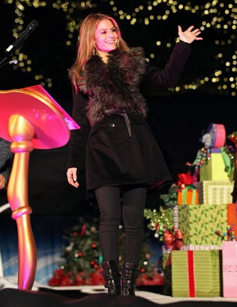 Maria Menounos attends the 'GRINCHmas' Celebrity Holiday Readings at Universal Studios Hollywood on December 23, 2010 in Universal City, California.