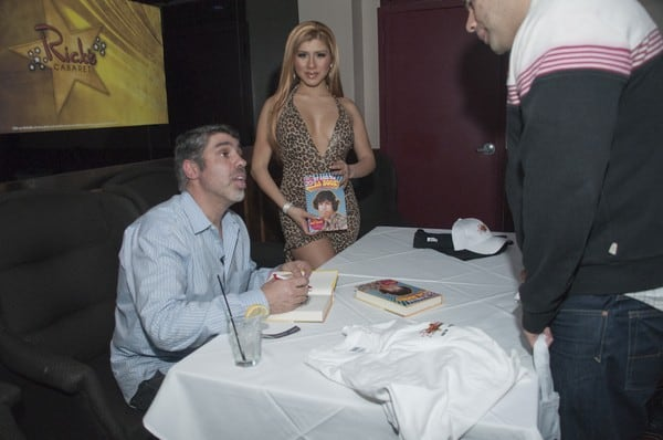 Gary Dell'Abate's 'They Call Me Baba Booey' Book Signing at Rick's Cabaret in New York City on December 14, 2010