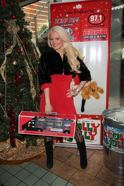 Holly Madison's Holly Jolly Christmas Toy Drive Presented by 97.1 Radio at El Segundo Restaurant in Las Vegas, Nevada on December 18, 2010
