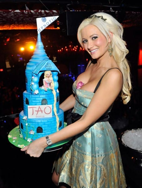 Model/television personality Holly Madison attends her 31st birthday party at the Tao Nightclub at the Venetian Resort Hotel Casino on December 2, 2010 in Las Vegas, Nevada.