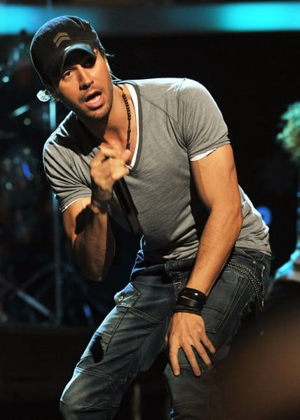 Enrique Iglesias performs onstage during Z100's Jingle Ball 2010 presented by H&M at Madison Square Garden on December 10, 2010 in New York City.