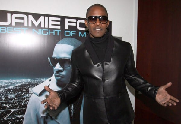 Jamie Foxx attends his 'Best Night of My Life' album listening session at The Samsung Experience on December 21, 2010 in New York City.