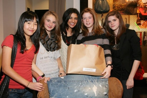 Jessica Szohr shops at the new TOMMY by Tommy Hilfiger Store at The Westchester Mall on December 19, 2010 in White Plains, New York.