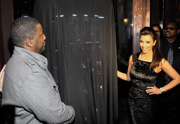 Kim Kardashian launches her Bissmor Watch Collection at The Grove on December 7, 2010 in Los Angeles, California.