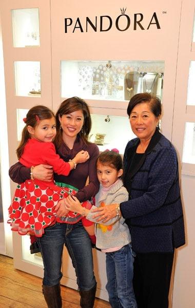 Kristi Yamaguchi visits Pandora at Westfield San Francisco Centre on December 22, 2010 in San Francisco, California.
