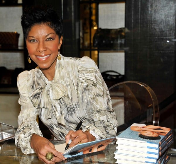 Natalie Cole signs copies of her new book 'Love Brought Me Back' at Saks Fifth Avenue Beverly Hills on December 18, 2010 in Beverly Hills, California.