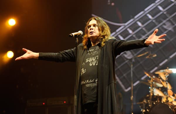 Ozzy Osbourne performs at Madison Square Garden on December 1, 2010 in New York City.